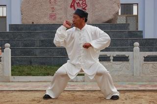 Bajiquan Pose
